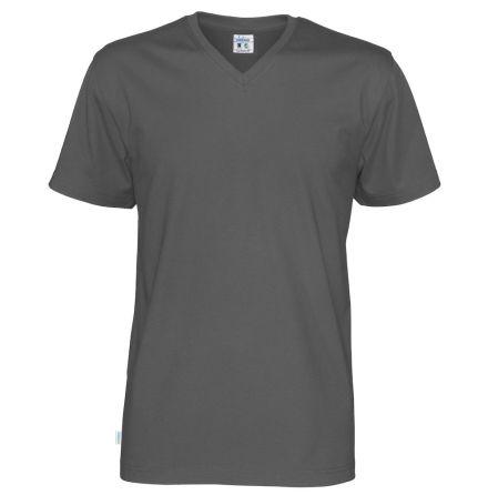 V-ringad herr t-shirt med 100% ekologisk Fairtrade bomull